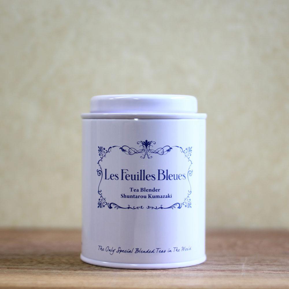 フィーユ・ブルー キャニスター缶(白)