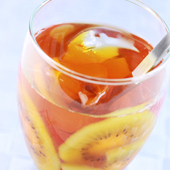 SNOOTEA マスカットブレンド レシピ アイスキウイティー