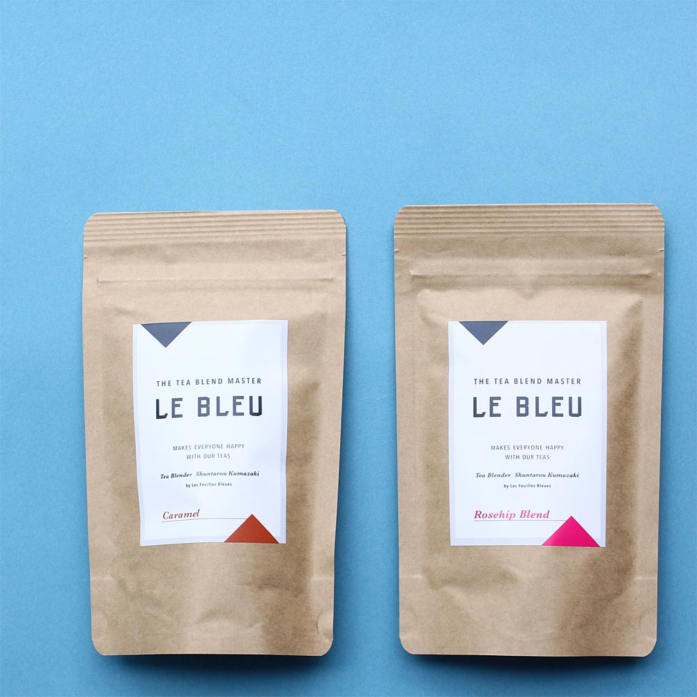 LE BLEU(ル・ブルー)フレーバードティー キャラメルとローズヒップブレンド