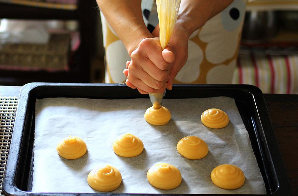 シュークリームのパフの作り方06