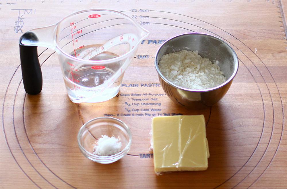シュークリームの材料